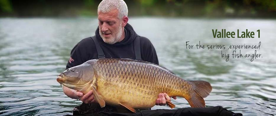 Carp fishing in France
